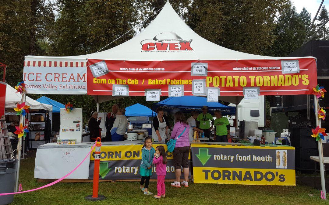 Strathcona-Sunrise Rotary Food Tent